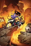 Ultimate Spider-Man No.132 Cover: Kitty Pryde, and Mary Jane Watson Print by Stuart Immonen