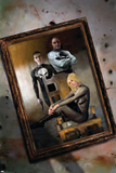 Punisher War Journal No.19 Cover: Punisher and Black Widow Posters