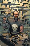 Punisher No.1 Cover: Punisher Posters af Tim Bradstreet