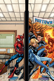 Marvel Adventures Spider-Man No.39 Cover: Spider-Man, Fatastic Four Posters by Patrick Scherberger