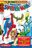 Amazing Spider-Man Annual No.1 Cover: Spider-Man Prints by Steve Ditko