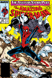 Amazing Spider-Man No.322 Cover: Spider-Man Poster by Todd McFarlane