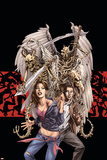 Spellbinders 6 Cover: Vesco, Kim and Asrokhel Posters by Mike Perkins