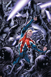 Captain Britain And MI: 13 No.8 Cover: Captain Britain Prints by Bryan Hitch