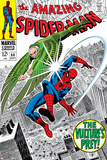 Don Heck - The Amazing Spider-Man No.64 Cover: Vulture and Spider-Man Fighting - Afiş