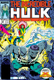 Incredible Hulk No.337 Cover: Hulk, Cyclops, Grey, Jean, Iceman and X-Factor Prints by Todd McFarlane