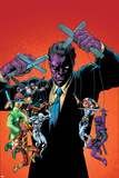 New Thunderbolts No.10 Cover: Purple Man Poster by Tom Grummett