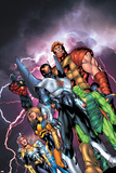 New Thunderbolts No.1 Cover: Atlas Posters by Tom Grummett