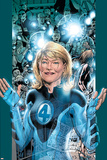 Ultimate Fantastic Four No.5 Cover: Invisible Woman Poster by Bryan Hitch