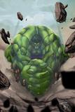 Gamma Games No.2 Cover: Hulk Poster