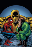 Marvel Adventures Spider-Man No.11 Cover: Spider-Man and Mad Thinker Poster von  Mike Norton