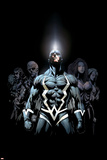 Inhumans 2099 No.1 Cover: Black Bolt and Inhumans Flying Pósters por Pat Lee