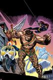 The Official Handbook Of The Marvel Universe Teams 2005 Group: Hercules Plakater av Gil Kane