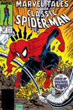 Marvel Tales: Spider-Man No.223 Cover: Spider-Man and Doctor Octopus Fighting Planscher av Todd McFarlane