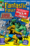 The Fantastic Four No.25 Cover: Hulk Pósters por Jack Kirby