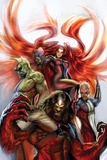 Secret Invasion: Inhumans No.3 Cover: Medusa, Gorgon, Karnak and Triton Prints by Stjepan Sejic