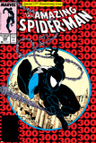 Amazing Spider-Man No.300 Cover: Spider-Man Fighting and Flying Posters af Todd McFarlane