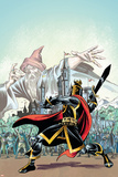 The Black Knight No.1 Cover: Black Knight Prints by Ron Frenz