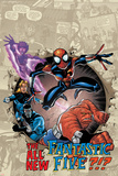 Spider-Girl No.87 Cover: Spider-Girl Posters av Ron Frenz