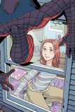 Spider-Man Loves Mary Jane No.4 Cover: Spider-Man, and Mary Jane Watson Posters by Takeshi Miyazawa