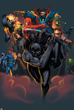Handbook: Marvel Knights 2005 Cover: Black Panther Bilder av Pat Lee