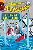 Amazing Spider-Man No.33 Cover: Spider-Man Bilder av Steve Ditko