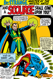 Strange Tales No.161 Cover: Dr. Strange and Baron Mordo Prints by Dan Adkins