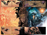 Annihilation: Conquest - Quasar No.1 Group: Quasar and Moon Dragon Swinging Posters by Mike Lilly