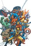 Marvel Team Up No.1 Cover: Wolverine Poster von Scott Kolins