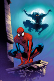 Ultimate Spider-Man No.112 Cover: Spider-Man and Green Goblin Photo by Stuart Immonen