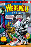Don Perlin - Werewolf By Night No.32 Cover: Moon Knight and Werewolf By Night Plakát