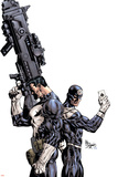 Punisher Vs. Bullseye No.1 Cover: Punisher and Bullseye Poster af Mike Deodato