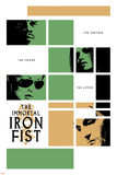 Immortal Iron Fist No.16 Cover: Cage, Luke and Iron Fist Photo