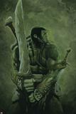 Skaar: Son of Hulk No.11 Cover: Skaar Plakater av Travis Charest