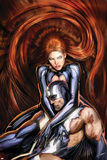 Secret Invasion: Inhumans No.4 Cover: Black Bolt and Medusa Prints by Stjepan Sejic