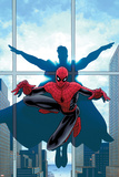Marvel Knights Spider-Man No.16 Cover: Spider-Man and Virtue Posters by Salvador Larroca