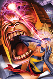 Ms. Marvel No.15 Cover: Ms. Marvel and M.O.D.O.K. Print