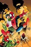 Ultimatum: Spider-Man Requiem No.2 Cover: Spider-Man Jumping Posters by Stuart Immonen