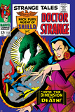 Strange Tales No.152 Cover: Dr. Strange, Umar and Mindless Ones Posters by Bill Everett