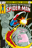The Spectacular Spider-Man Cover: Spider-Man, Peter Parker, and Human Torch Posters by Mike Zeck