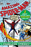 Steve Ditko - Amazing Spider-Man No.1 Cover: Spider-Man Plakáty
