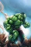 Marvel Age Hulk No.1 Cover: Hulk Posters af Shane Davis