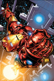 The Invincible Iron Man No.1 Cover: Iron Man Plakater av Joe Quesada