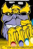 Infinity Gauntlet No.2 Headshot: Thanos Plakater af George Perez