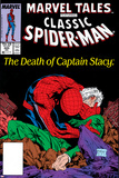 Marvel Tales: Spider-Man No.225 Cover: Spider-Man and Captain Stacy Fighting Poster by Todd McFarlane