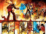 The Order No.1 Group: Anthem, Heavy, Calamity, Pierce, Avona, Maul, Corona and Infernal Man Posters by Barry Kitson