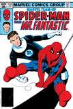 Marvel Team-Up No.132 Cover: Spider-Man and Mr. Fantastic Posters by Sal Buscema