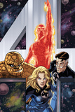 Fantastic Four Giant-Size Adventures No.1 Cover: Invisible Woman Pósters por David Williams