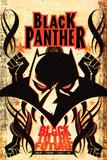 Black Panther Annual #1 Cover: Black Panther Posters af Juan Doe