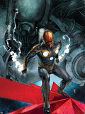 Nova No.12 Cover: Nova Posters by Alex Maleev